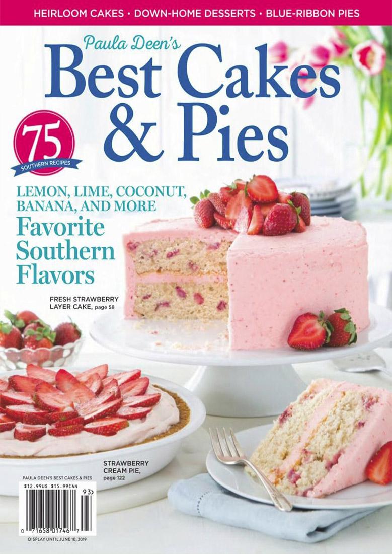 مجله انگلیسی Best Cakes & Pies